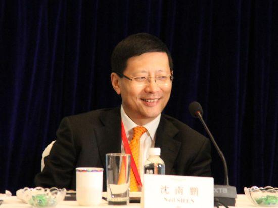 图文 红杉资本中国基金创始及执行合伙人沈南鹏