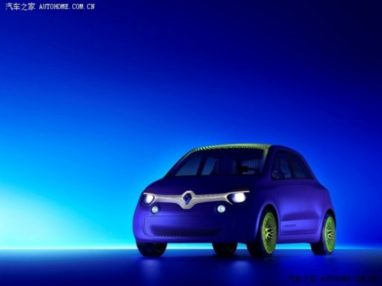 五门掀背电动车 雷诺Twin-Z概念车发布
