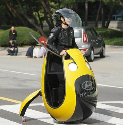 现代发布蛋形概念车E4U 未来有望量产