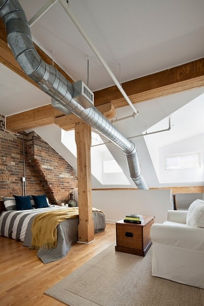 阁楼男女的卧室新幻想 13款简约设计