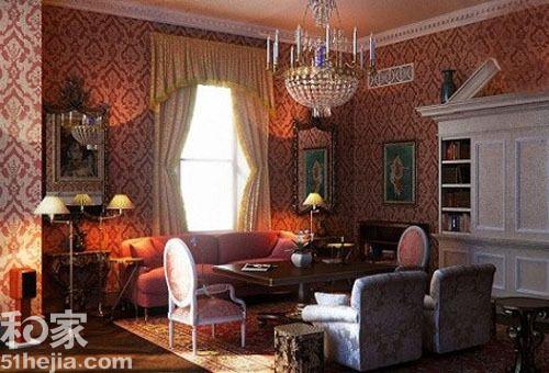 别致的床幔设计以及吊灯,均为空间带来了更多的魅力.