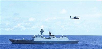 《马关条约》118周年南海舰队巡航钓鱼岛