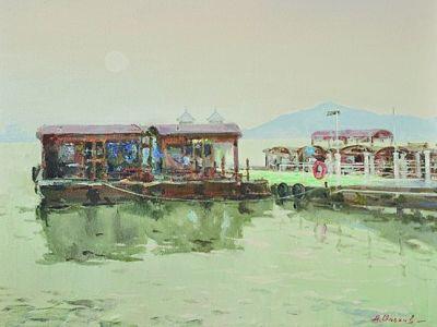乌克兰画家笔下的浓浓运河情 - 闲云野鹤 rylihongwei  - 闲云野鹤 rylihongwei的博客