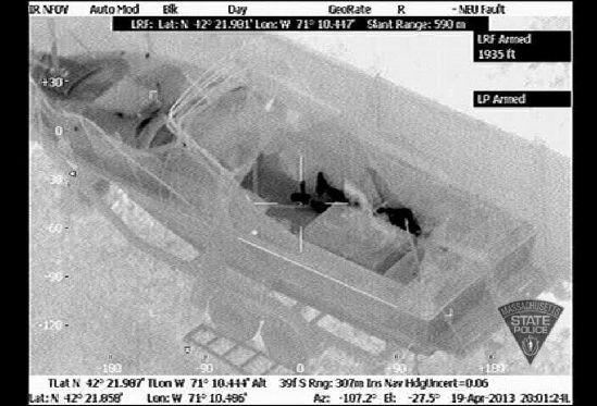 高清热感应成像装置助美警方抓捕波士顿爆炸案嫌犯
