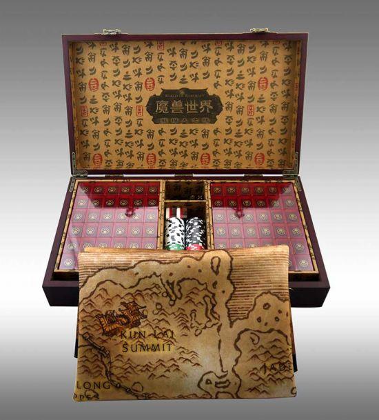 《魔兽世界》主题限量麻将 做工精美材质出众