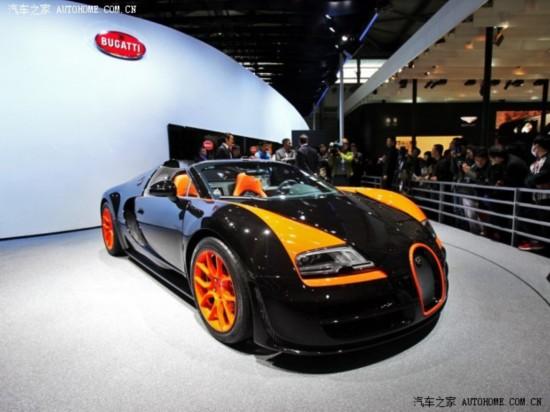 2013上海车展:布加迪威航限量版发布