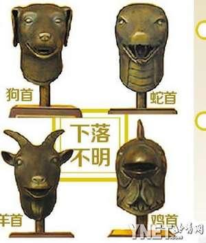 十二生肖青铜像(2/6张)图片