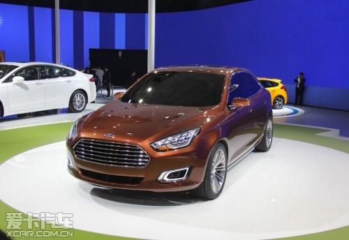 福特Escort概念车上海发布 或明年量产