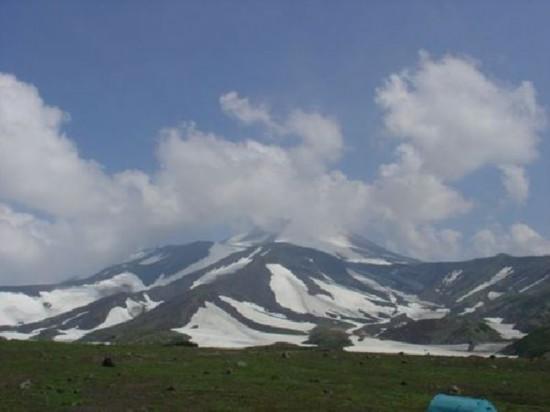 俄罗斯阿瓦钦斯基火山