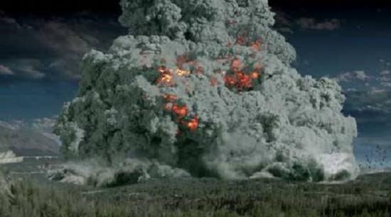 """美国黄石公园""""超级火山"""""""