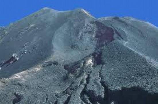 加那利群岛拉帕尔马别哈火山