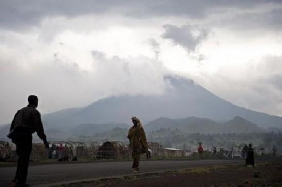 刚果尼拉贡戈火山