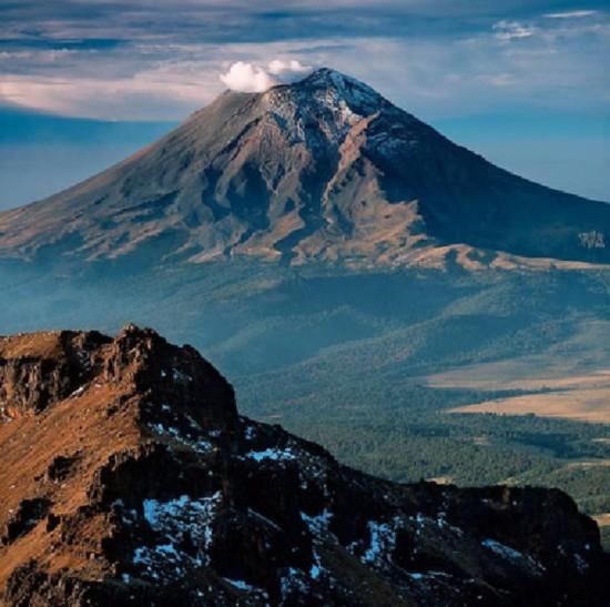 墨西哥波波卡特佩特火山