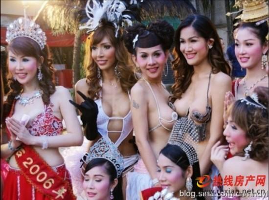 泰国性感人妖_实拍泰国人妖皇后选美现场 曝光泰国人妖\