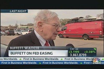 巴菲特认为美联储应该扩大量化宽松规模