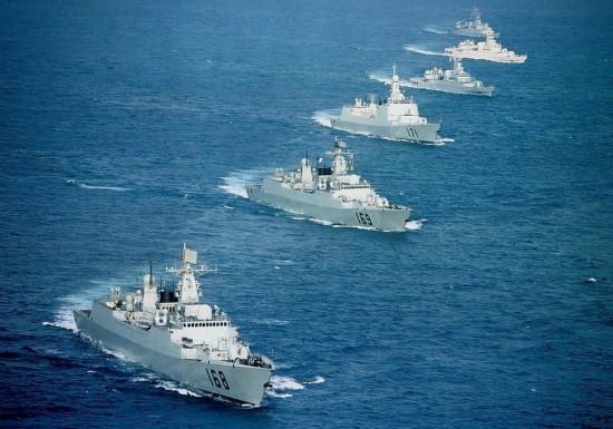 高清组图:中国航母编队组成 战力或将世界第二【6】