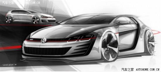 """3.9秒""""破百"""" 大众GTI概念车更多信息"""