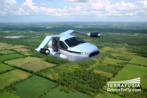 TF-X插电式混合动力飞车细节曝光