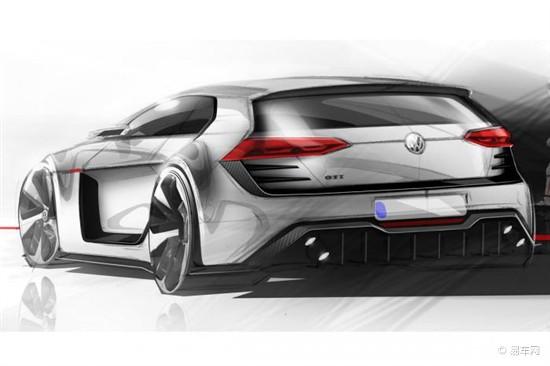 大众gti概念车图纸曝光 百公里加速3.9秒
