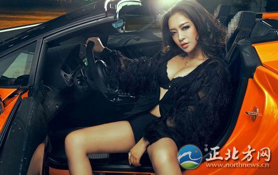 世界第一美女车模 最爆露的车模美女 中国第一美女车模