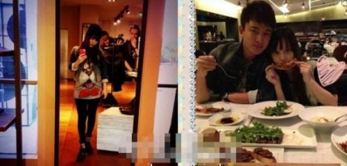 李小璐 杨幂/10月3日,李小璐上传了大肚怀孕照,并且与贾乃亮大秀恩爱。