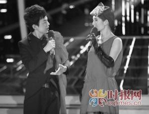 谢娜曾模仿王菲,和何炅献上一曲《因为爱情》