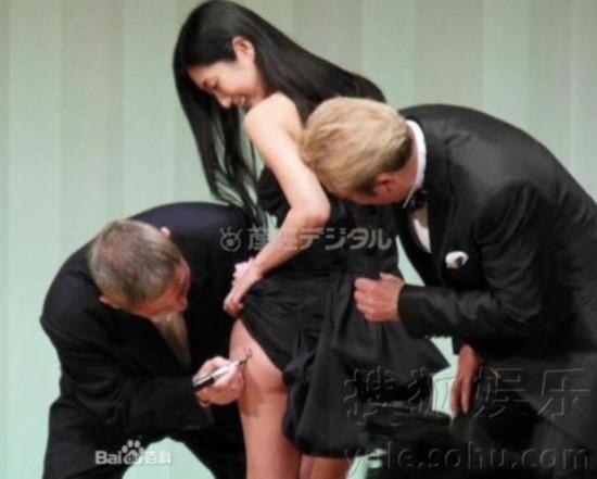 现年66岁的日本电影审查委员长北野武出席了颁奖仪式