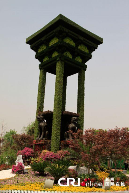 北京 沈湜/大型植物盆景。摄影:沈湜