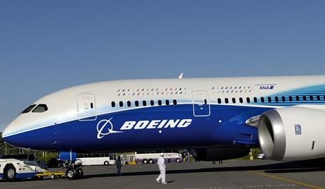 波音787客机获准复航 全日空接受最初交货客机