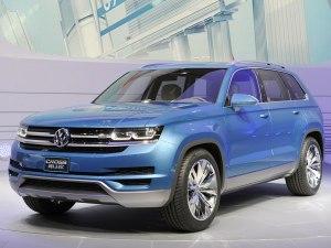 或2015年国产 大众两款SUV概念车新消息
