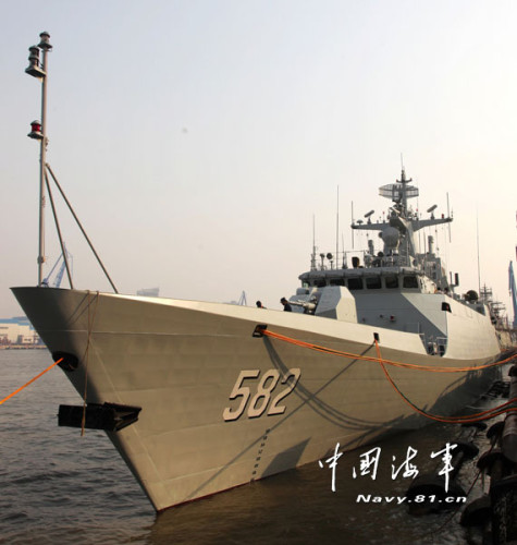 组图:我军最新056型护卫舰服役 监造师揭秘性能