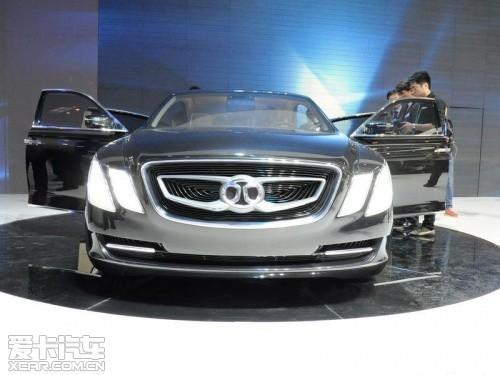北汽C90概念车明年推出 奔驰E平台打造