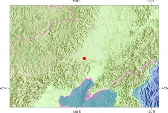 内蒙古通辽市开鲁县21日23时57分发生3.6级地