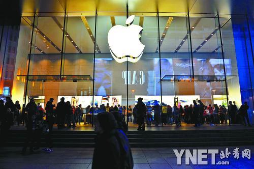 苹果呼吁美国政府应全面改革公司税制供图/CFP