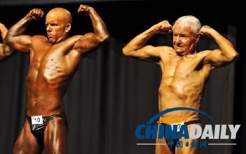 世界最老健美先生 83岁身患癌症心搏曾停止