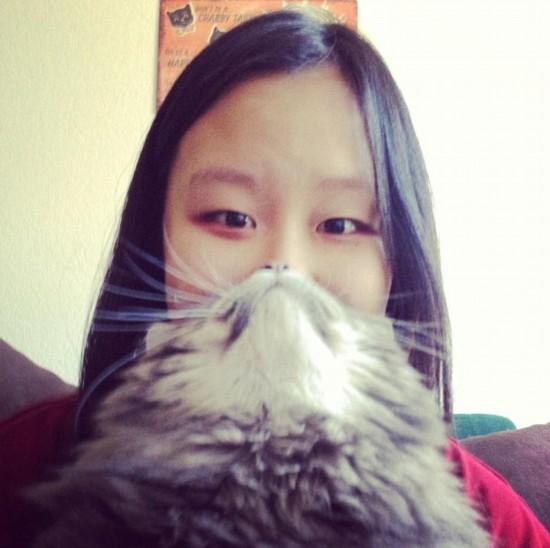 猫咪胡须照引模仿热潮[组图10p]