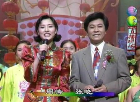 周涛1996年首登央视春晚 (资料图)