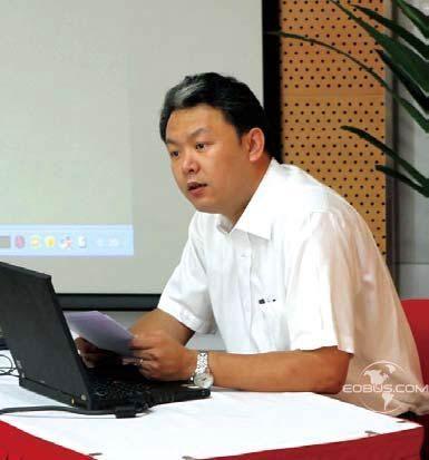 首汽集團副總經理梁海晨。資料圖