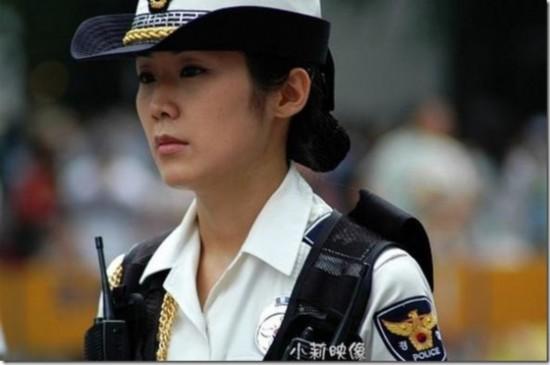 美国女警察-揭秘朝鲜女交警 盘点中日欧美靓丽警花