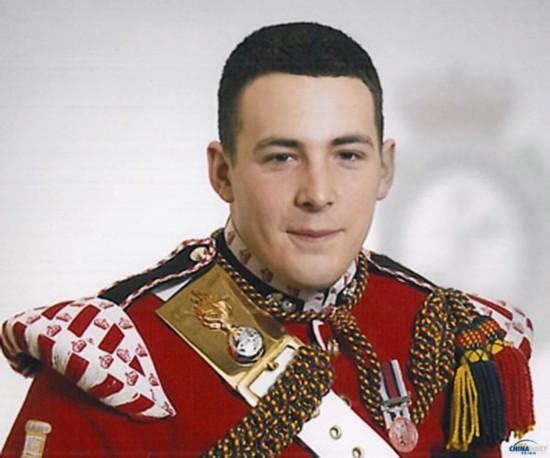 遇害英军士兵李・瑞戈比。