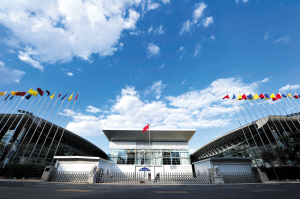 绿色环保融入中国―南亚博览会主场馆