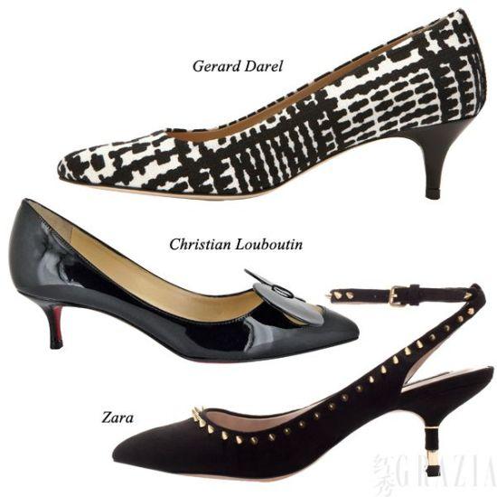 今季最火5cm低跟鞋 实穿百搭低跟不低调