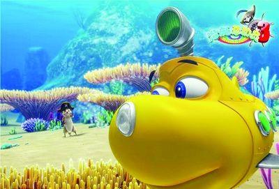 潜艇总动员3动画片_《疯狂原始人》冲击六一档 6部儿童电影闯儿童节--文化--人民网