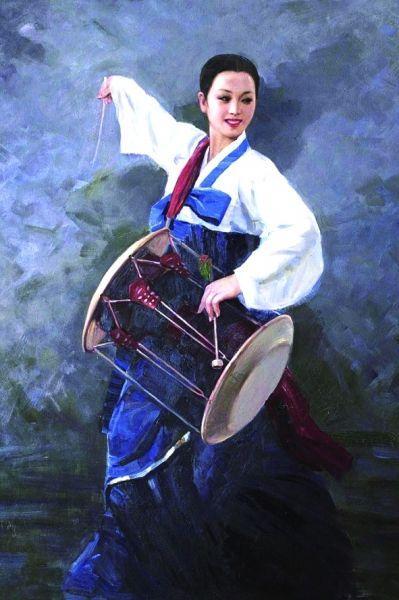 朝鲜画渐得市场追捧
