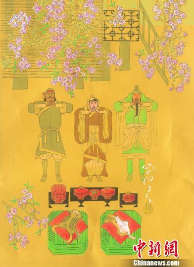 叶毓中《全图三国》国际巡展在成都武侯祠收官