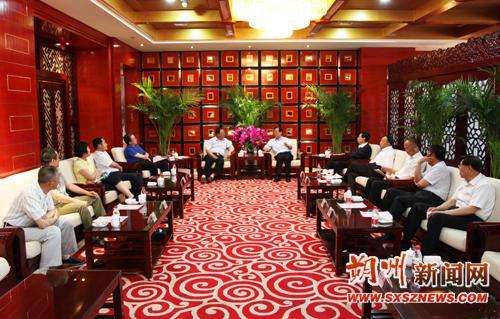 李正印会见山西省发改委副主任徐安崇--山西频