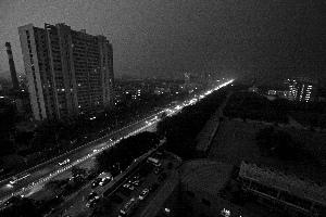 暴雨雷电汛情北京一天连发六预警