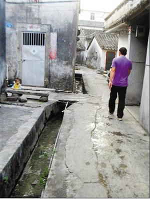 深圳大鹏所城600岁下水道沿用至今 从未发生水浸图片