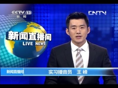 央视新主播王峰