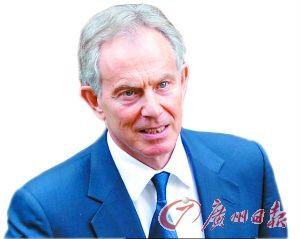 英国前首相布莱尔。